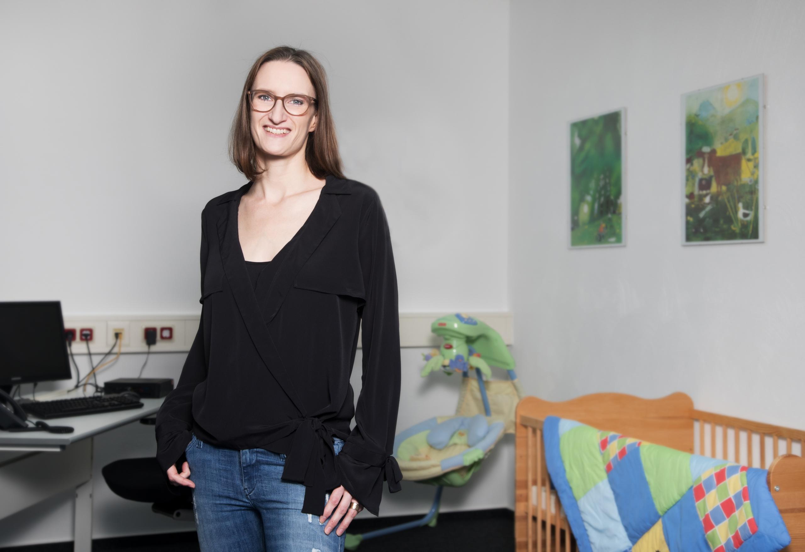 Eveline – im Eltern-Kind-Zimmer