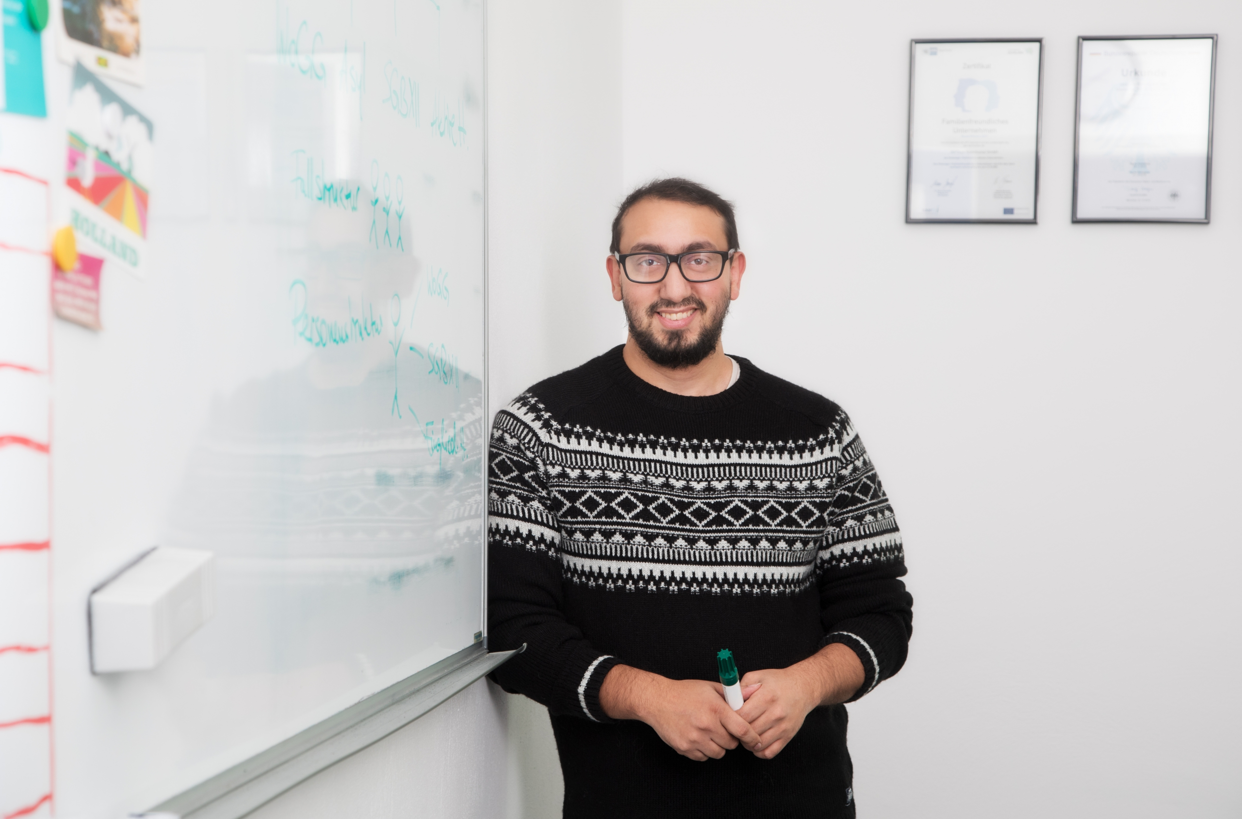 Ibraim – im Konferenzraum